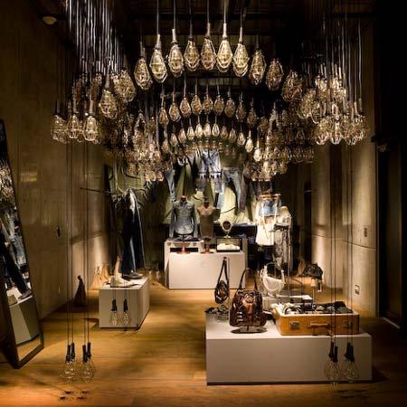 Diesel Denim Gallery de Tokio: tienda + galería de arte