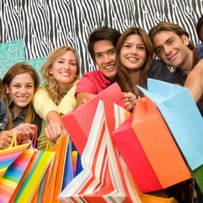 Shopping Concepts: Group In