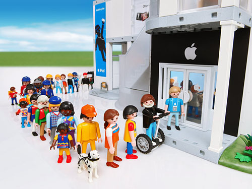 Apple store playmobil